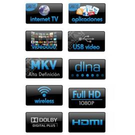 WEB TV-W BLUSENS reproductor FullHD Smart TV